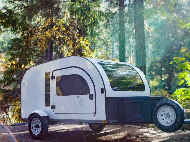 Enjoy nature trips with the DROPLET mini camper