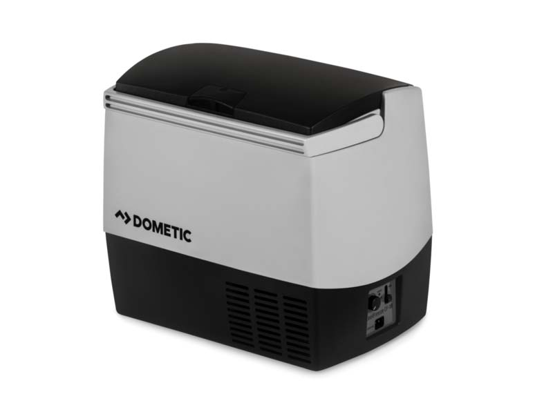 DROPLET offers an option of portable fridge by Dometic to equip your teardrop trailer