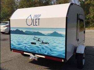 Artwork by ArtByDi on your lightweight teardrop trailer