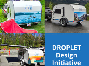 We have partnered up with selected artists to offer artwork designs for our towable trailers