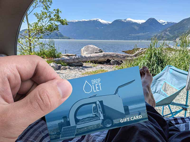 Give the gift of adventure with the DROPLET rental gift cards