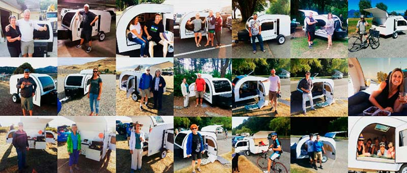 The DROPLET trailer renters and owners share their camping stories