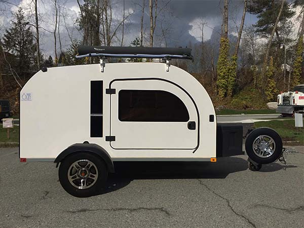 """We offer 13"""" wheels for all the off road teardrop trailer lovers out there"""