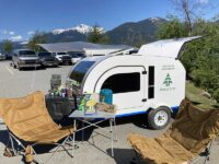 We have partnered up with Woods to provide the all-inclusive camping experience